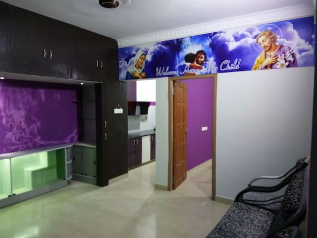 Fully furnished apartment in Pondicherry dailyrent