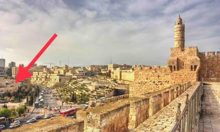 Peaceful Apt In David's Village/Mamilla,Jerusalem!