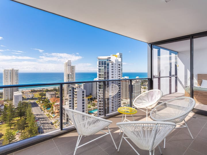 Premium Ocean View 2 Bedrooms Apartment GCBBQ1E