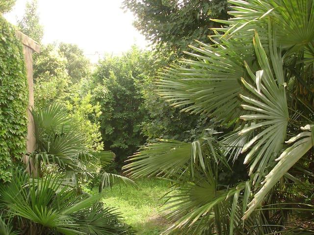 Chambre lumineuse & cosy sur jardin - Bordeaux - Huis