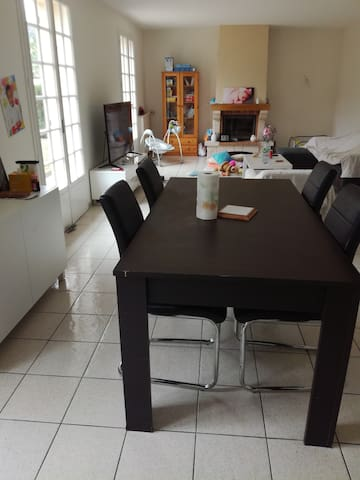 Maison 119m2 Centre-Ville avec Jacuzzi S2