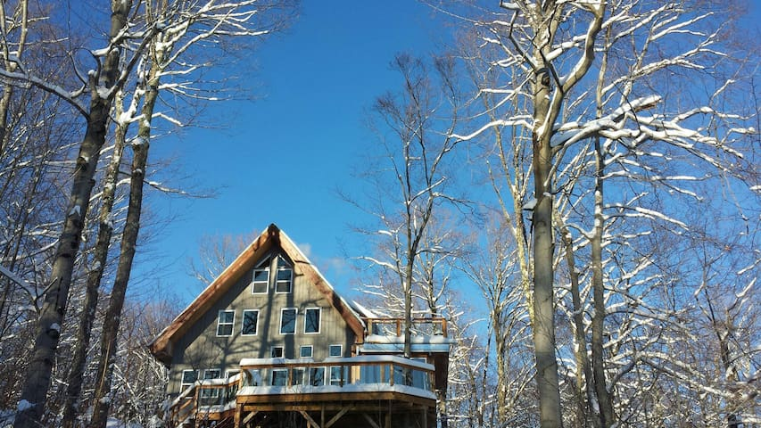Panorama-montagne-Sports d'hiver - Austin - House