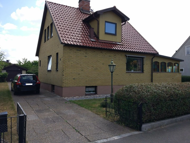 House with big garden near the university