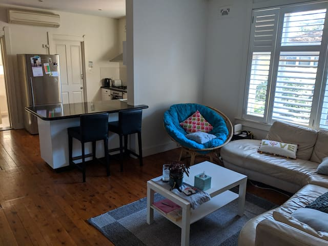 Modern apartment room in Neutral Bay