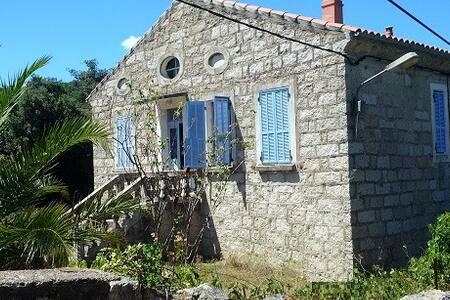 Maison et jardin au calme dans un village corse - Levie - บ้าน