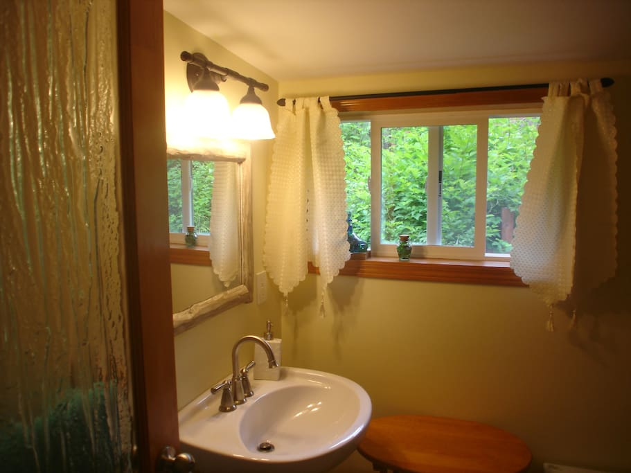 Washroom includes shower.