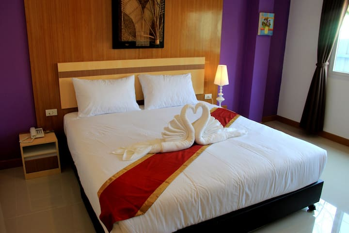 Great Location room - 2 minute walk from Pier - Ao Nang - Apartemen