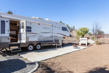 The Trailer at The Rancho del Sol - Valley Center