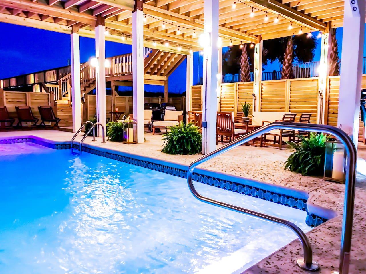 The Pineapple Beach Club, Ocean Isle Beach's Premier Oceanfront Property.