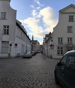 Lübecker Old- Town Flat in the City - Lübeck - Lejlighed