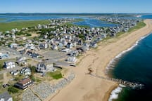 view of Plum Island from the Newbury side