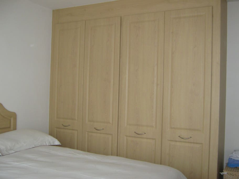 Spacious double wardrobe