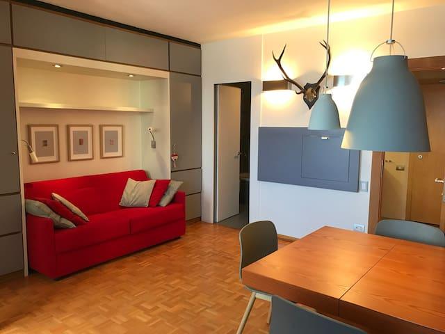Appartamento con vista sull'Alpe di Siusi