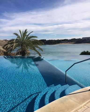 White sands 2 rooms with beautiful sea views - Arenal d'en Castell - Condominium