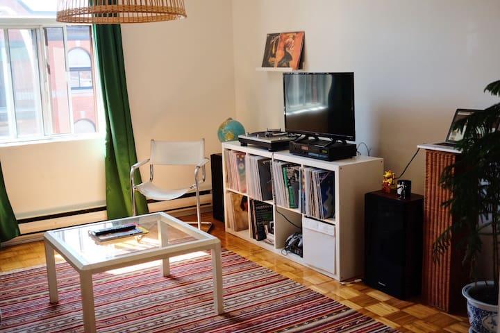 Bright Apartment in Plateau - Montréal - Apartment