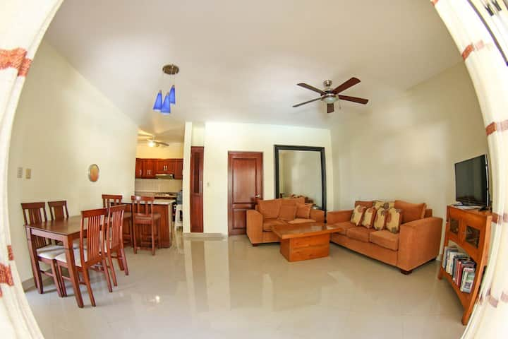 0046- One bedroom apartment for rent in Cabarete.
