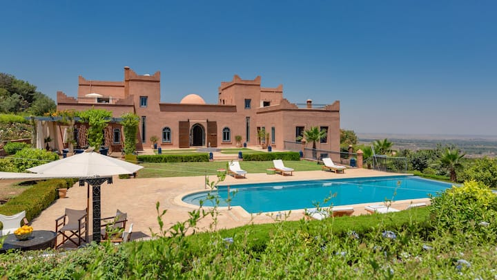 Luxury villa in Ourika Valley near Marrakech