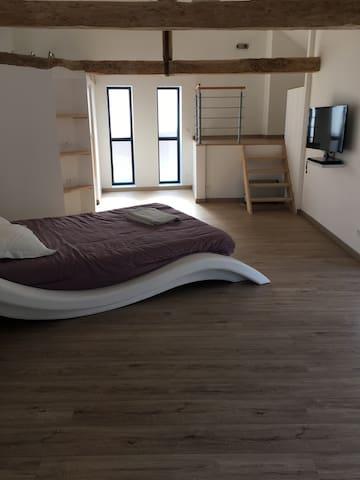 Bel appartement chaleureux - Briatexte - Appartement