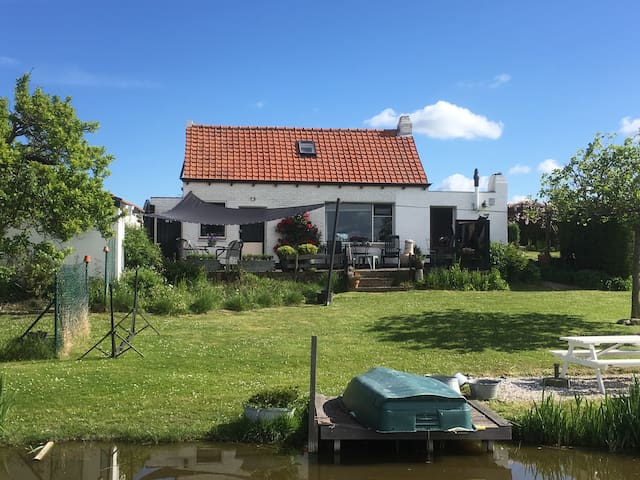 Vakantie in Zeeland aan de kust - Groede - House