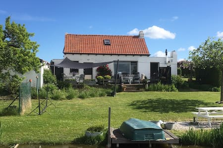 Vakantie in Zeeland aan de kust - Groede - Huis