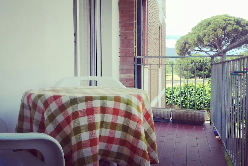 terrazza abitabile e fresca