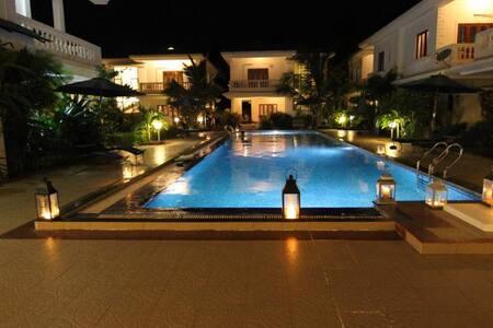 Near beach Swimming pool facing - Arpora