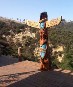 The Totem Terrace - Topanga