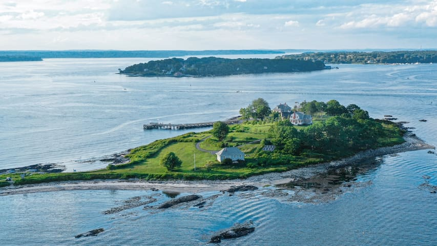 Waterfront Mansion | Private Island | Portland, ME