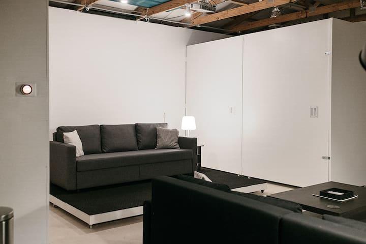 Centrally Located Minimalist Studio