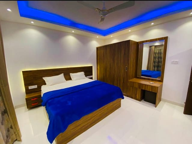 Bedroom with all amenities