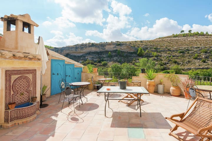 Country Cottage in Castile-La Mancha with pool and terrace