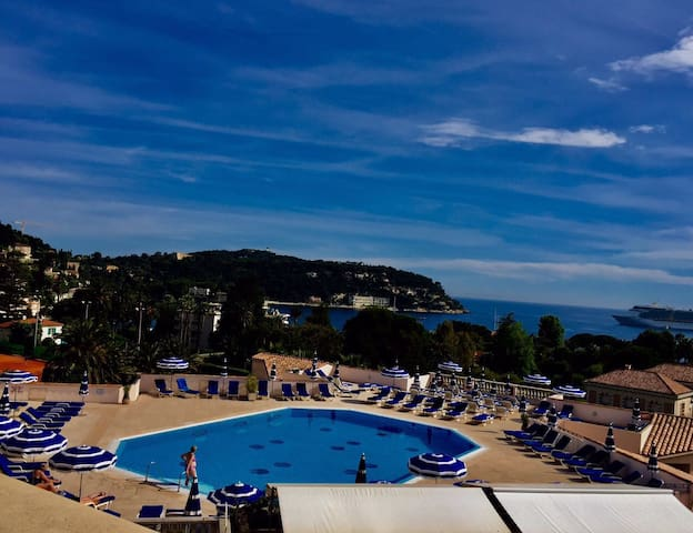 Beautiful View In Villefranche Sur Mer Appartements 224