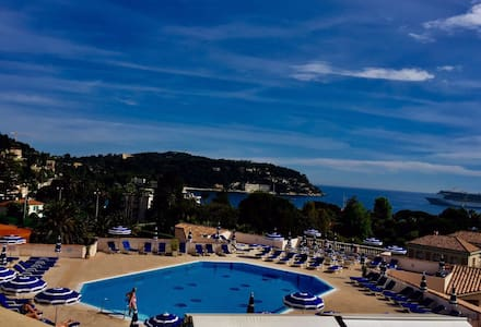Beautiful view in Villefranche sur mer