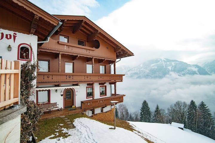 Ruhige Ferienwohnung in Finkenberg nah am Skilift