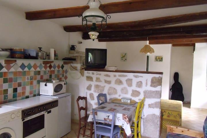 Studio et jardin en Provence - Artignosc-sur-Verdon - Apartamento