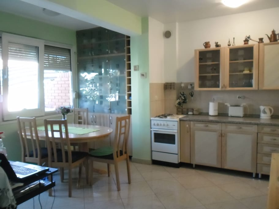 Kitchen and the dining part