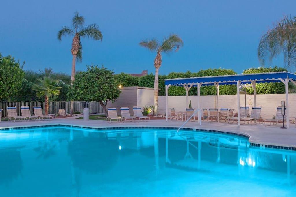 Central Palm Springs Villa