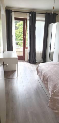 Appartement verdoyant,  calme et paisible