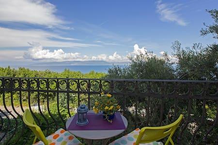 Gorgeous view, beach ca.150m, WiFi - Ravni