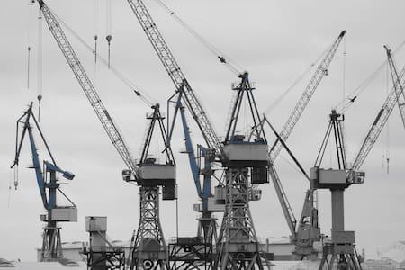 Moderne 2-Zi-Whg in Wilhelmsburg 55 qm + Balkon - Hamburgo