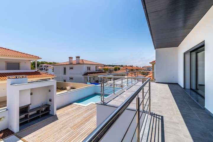 Villa with 4 bedrooms in Nazaré, with private pool and enclosed garden - 4 km from the beach