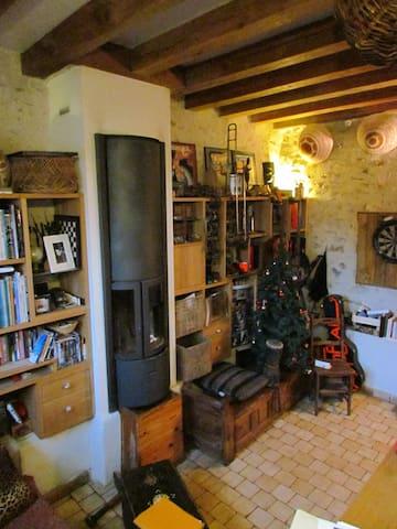 Charmante maisonnette à 3/4 d'heure de Paris - Haravilliers - House