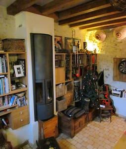 Charmante maisonnette à 3/4 d'heure de Paris - Haravilliers - Casa