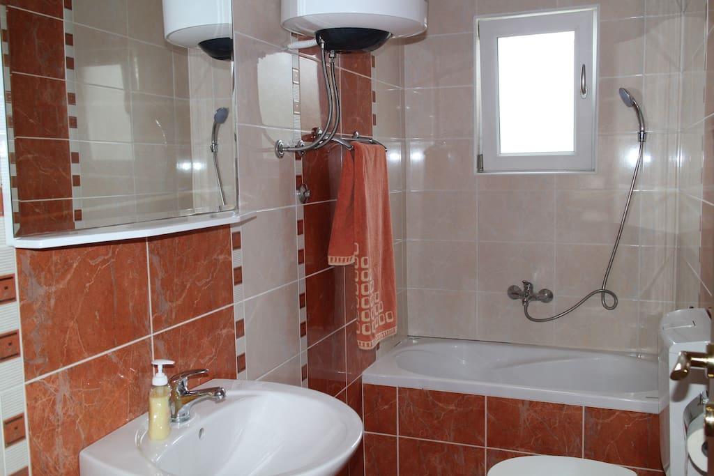 Each apartment has en-suite bathroom.