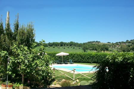 Studio Flat with pool 6 km from Perugia - Ponte Felcino - Apartmen