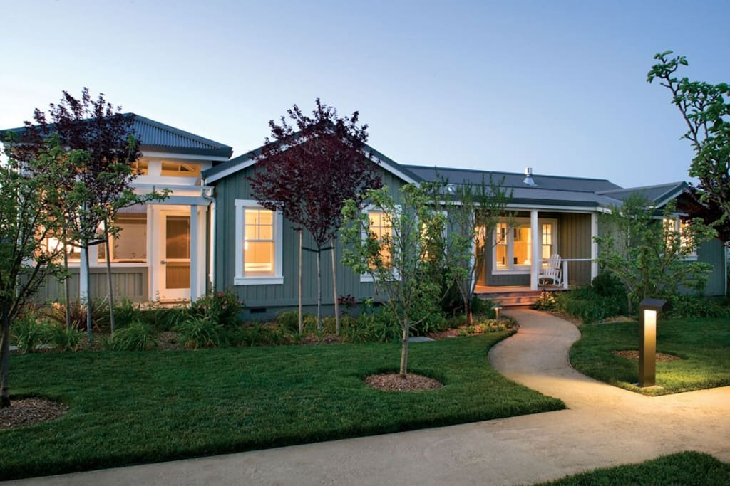 Luxury house in the carneros resort and spa timeshares for Farm at carneros inn