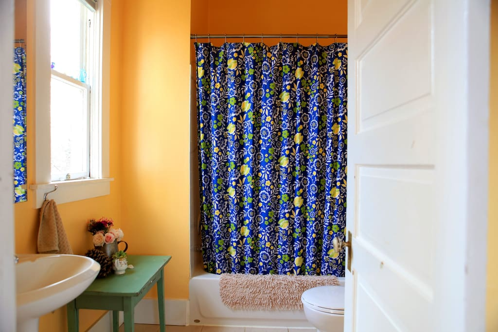 Gypsy Blue shares this bathroom