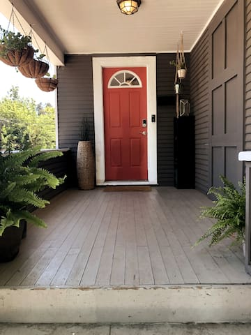 Front Entrance to Home