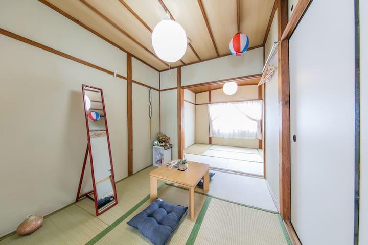 BU1/Tennouji area/walk to 10min/Free wifi - Higashisumiyoshi-ku, Ōsaka-shi - Appartement