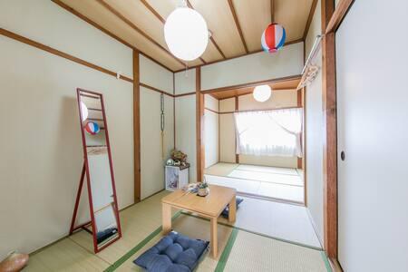 BU1/ 텐노지 / 도보 10분 / 한적한 주택가 / Free wifi - Higashisumiyoshi-ku, Ōsaka-shi